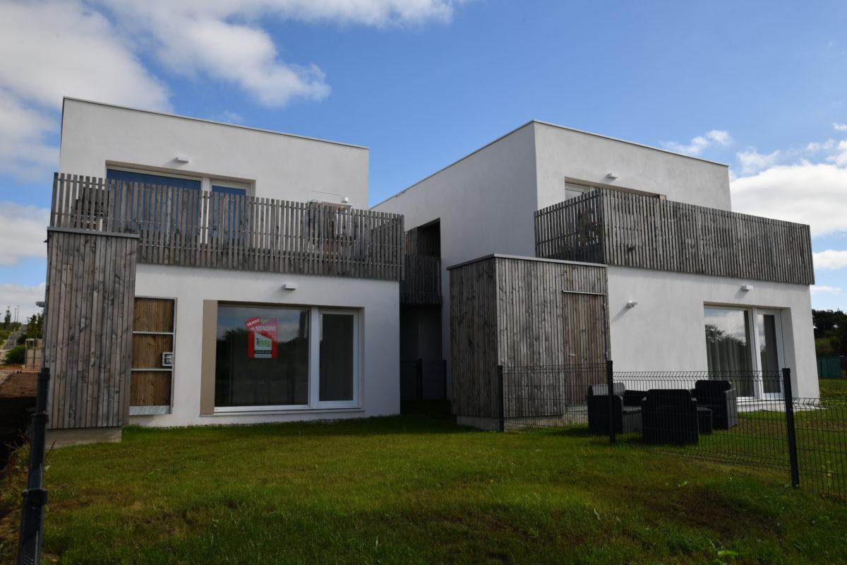 Perspective du programme immobilier Tymmo, Les contemporaines à Brest